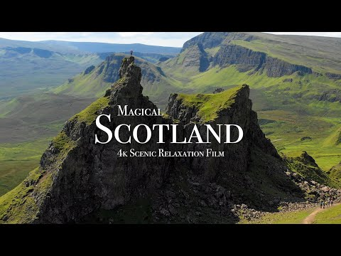 Magical Scotland - 4K Scenic Relaxation Film with Calming Music