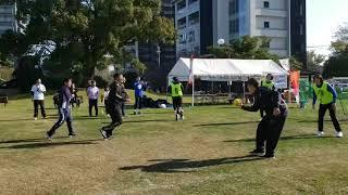 熊本白川公園でストリートハンドボール