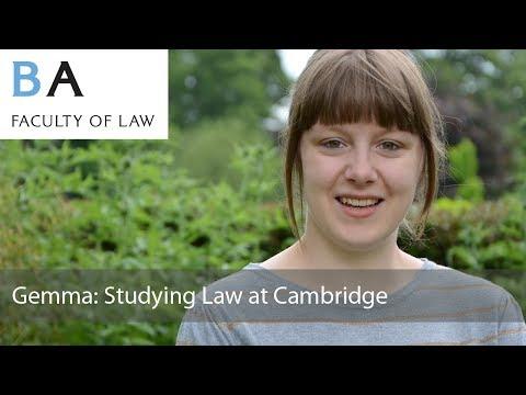 Studying Law at Cambridge: Gemma