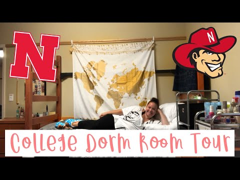 College Dorm Tour 2018 | UNL