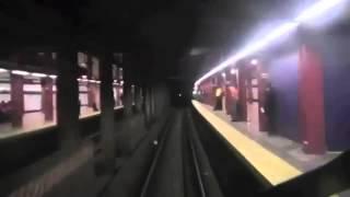 A train Time Lapse to Far Rockaway-Mott Av