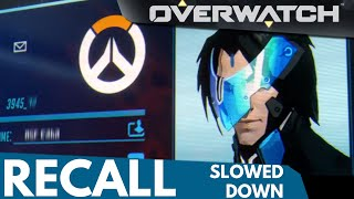 Overwatch: Recall Heroes Slowed Down