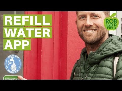 Refill App to Help You Ditch Bottled Water