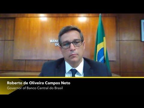 Brazil's Campos Neto on Economy, Stimulus, Pandemic Recovery