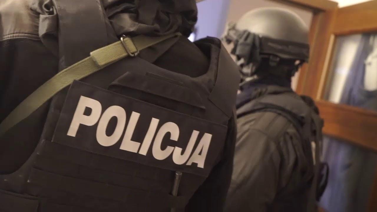 Wielka akcja rozbicia grup przestępczych przez CBŚP