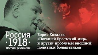 Борис Ковалев: «Поганый Брестский мир» и другие проблемы внешней политики большевиков»