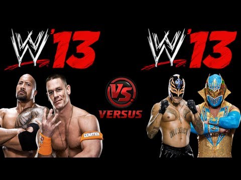 John Cena e The Rock VS Rey Mysterio e Sin Cara - Xbox 360