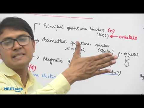#19   Schrodinger Wave Equation & Quantum Numbers   Structure of Atom   Dr  Rajeev Ranjan NEET AIIMS