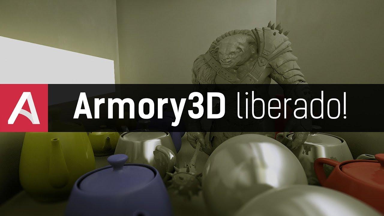 Armory3D finalmente DE GRAÇA! | Nova Game Engine do ...