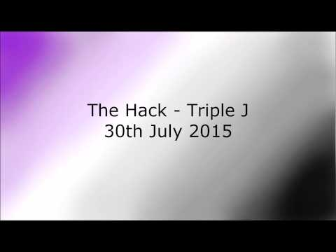 The Hack /Triple J - Interview on asexuality - 30 July 2015