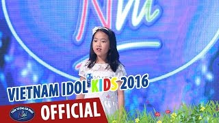 vietnam idol kids - than tuong am nhac nhi 2016 - tap 3 - ngua o thuong nho - diep nhi
