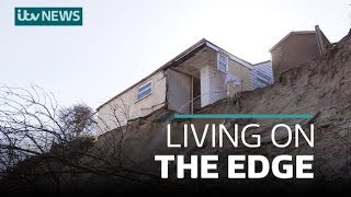 Why Norfolk clifftop homes are falling into the sea and who is to blame | ITV News