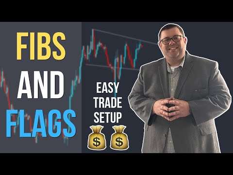 Forex – GBPAUD Flag Pattern – EASY MONEY TRADE SETUP – Fibs And Flags