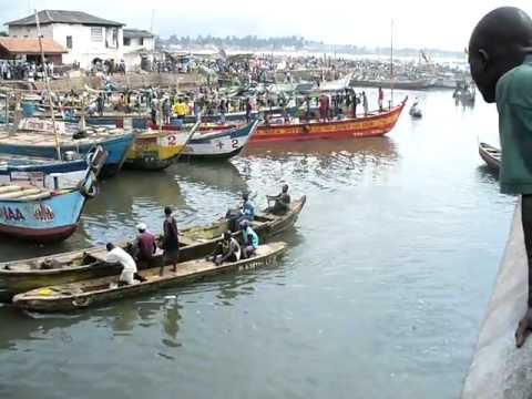 Ghana Africa - fishing industry