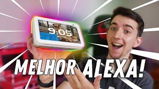 MELHOR ALEXA para seu QUARTO INTELIGENTE! CUSTO BENFÍCIO com MAIS FUNÇÕES! Echo Show 5