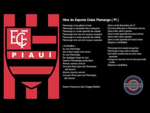 a21bb1bd67 Esporte Clube Flamengo do Piauí (pi) - Hinos de Futebol - Cifra Club