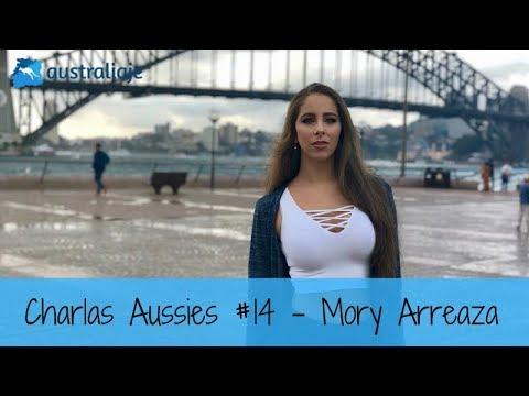 La comunicadora y modelo venezolana. Mory Arreaza. Charlas Aussies #14