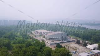 Sports facility. Palace of Sports named after I. Yarygin. Russia, Krasnoyarsk ( Ivan Yarygin Sports