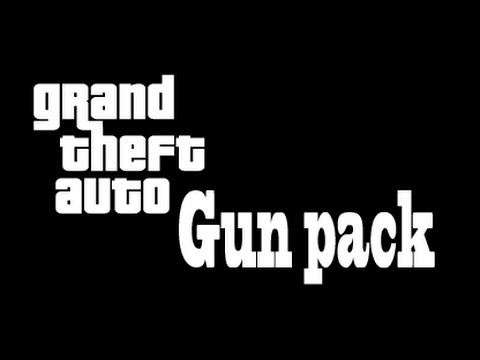Blue and black gun pack