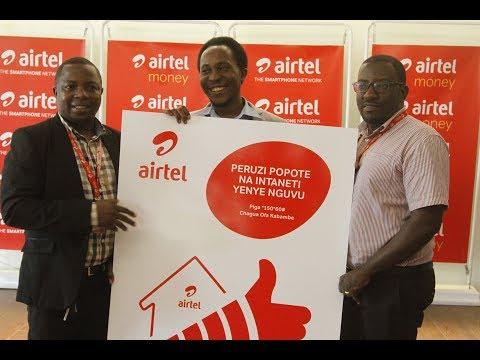 Airtel Tanzania Yazindua Teknolojia mpya ya Intaneti U900