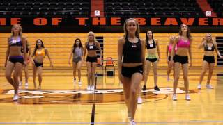 OSU Dance Team Tryout Routine thumbnail