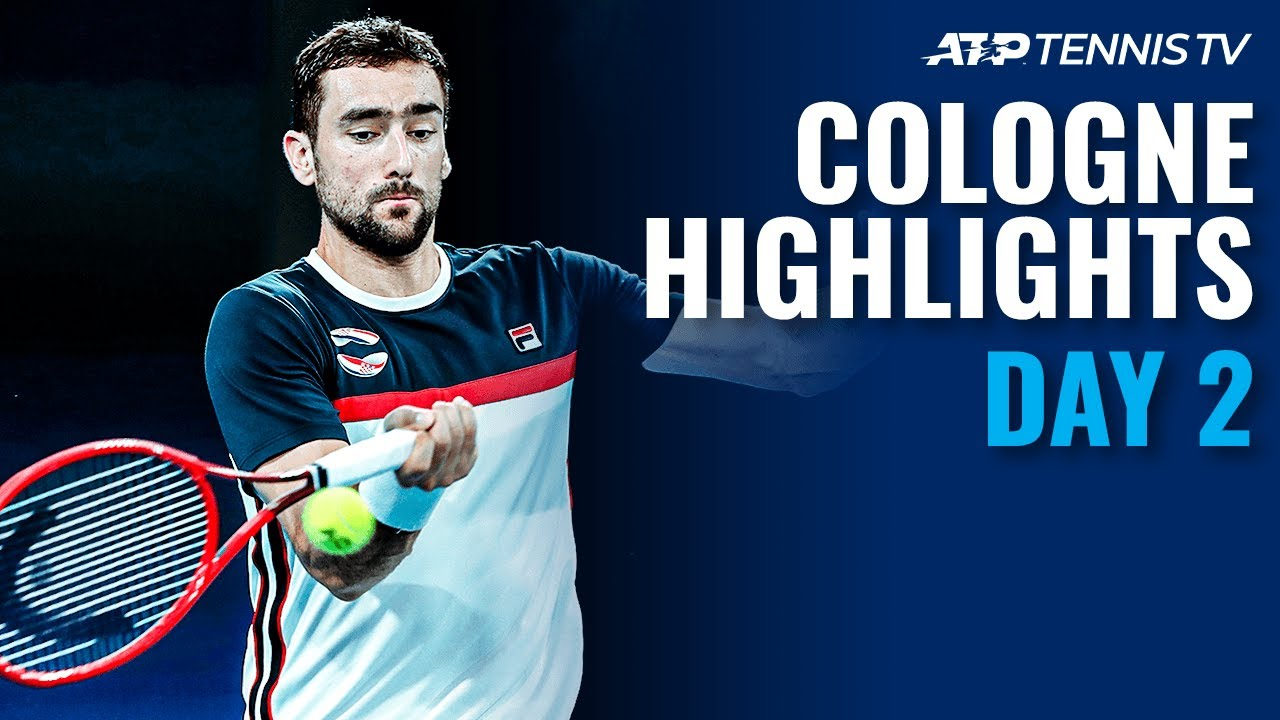 Verdasco Overcomes Murray; Cilic Takes Out Giron   Cologne 1 2020 Highlights Day 2