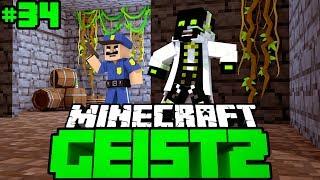ICH WERDE VON DER POLIZEI GESUCHT?! - Minecraft Geist 2 #34 [Deutsch/HD]