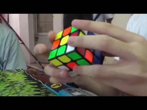 18.87 Official Rubik's cube average | Hanoi Open 2017