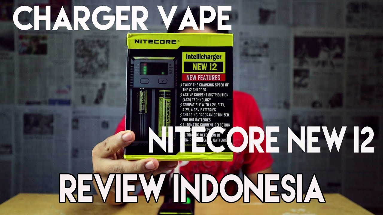Review Nitecore New I2 Indonesia Vaper Youtube Version Features I4 Charger With Lcd Indikator Premium