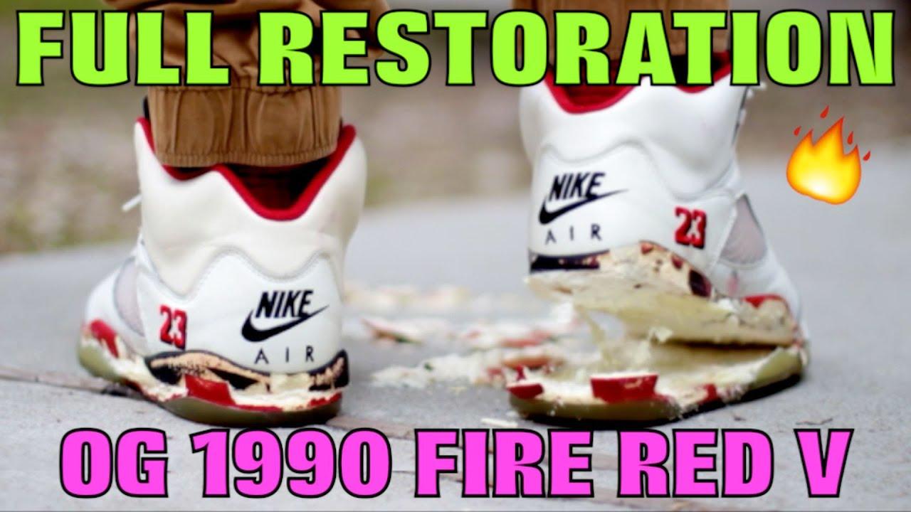 OG 1990 FIRE RED V FULL RESTORATION! - YouTube 400704b91