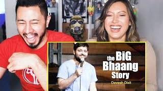 DEVESH DIXIT | The Big Bhaang Story | Stand Up Comedy | Reaction by Jaby Koay & Natasha Martinez