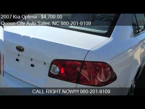 2007 Kia Optima For Sale In Charlotte Nc 28205 At The Queen Youtube