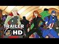 MARVEL'S AVENGERS: SECRET WARS Official Trailer (HD) Disney XD Animated Series