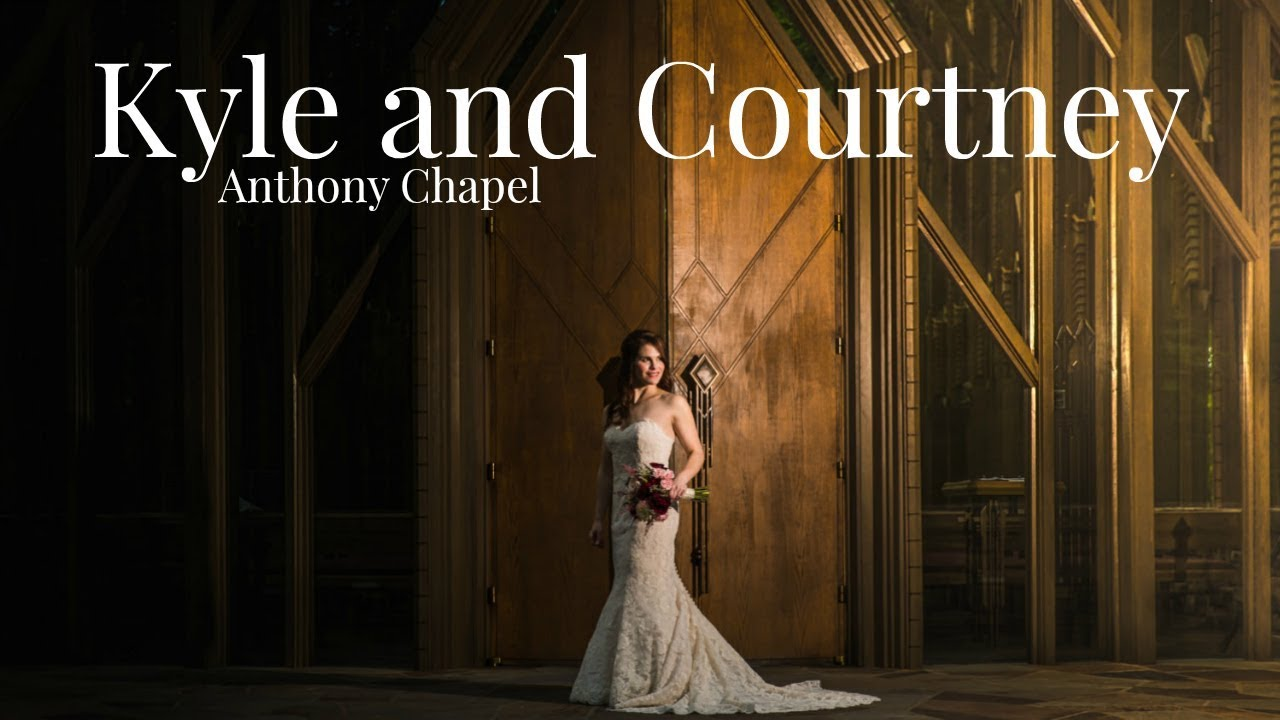 Anthony Chapel Wedding Hot Springs Arkansas Kyle And Courtney
