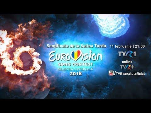 Semifinala Eurovision 2018 de la Salina Turda (LIVE)