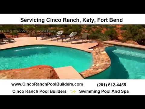 Katy / Fulshear / Fort Bend / Cinco Ranch Pool Service & Repair