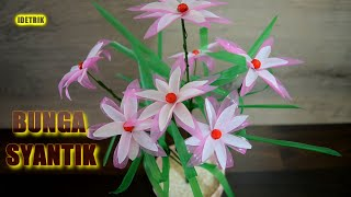 WOW!! Ide Kreatif Bunga SYANTIK dari Sedotan