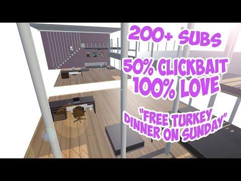 "VRChat -  200+ subs - ""FREE TURKEY DINNER ON SUNDAY"""