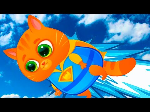 КОТЕНОК БУБУ #65 играем в игры виртуальный питомец развлекательное видео для детей про котиков #КИД