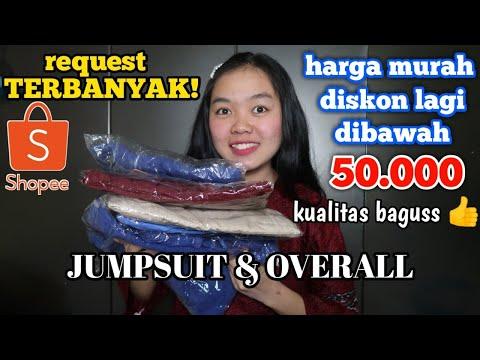 HARGA MULAI 30 RIBUAN | BORONG JUMPSUIT & OVERALL MURAH DI SHOPEE | Susi Official