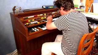Organ Pleasure Part 1 (yamaha Electone C-605)