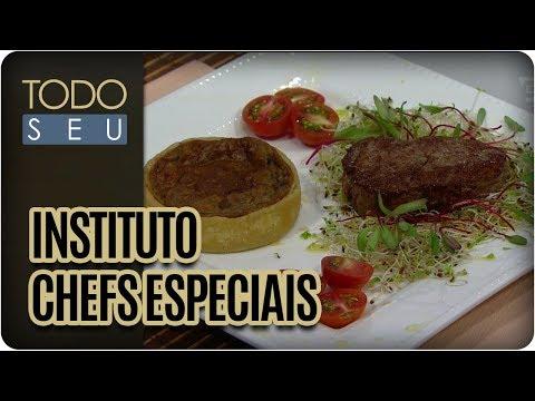 Quiche De Funghi | Chefs Luíza Vedovello E André Aquino - Todo Seu (28/11/17)
