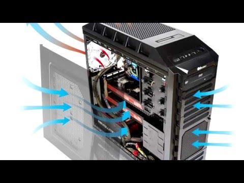 Охлаждение компьютера. Отрицательное и положительное давление