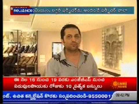Gemini News- 'FURNITUREWALLA FW' unviels his 4th Luxury store in Hyderabad
