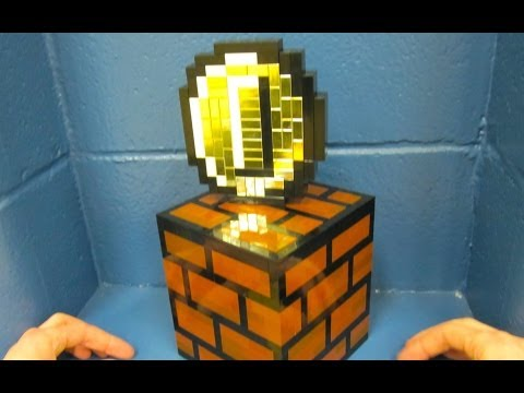 Super Mario Question Block Lamp by 8 Bit Lit - Gaming Boulevard from YouTube · High Definition · Duration:  2 minutes 10 seconds  · 28.000+ views · uploaded on 26.12.2013 · uploaded by MyGamingBoulevard