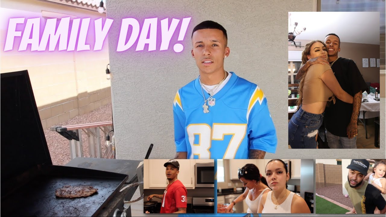 FAMILY DAY WITH LIL JERZ & JCOOK! PT 2. **HILARIOUS**