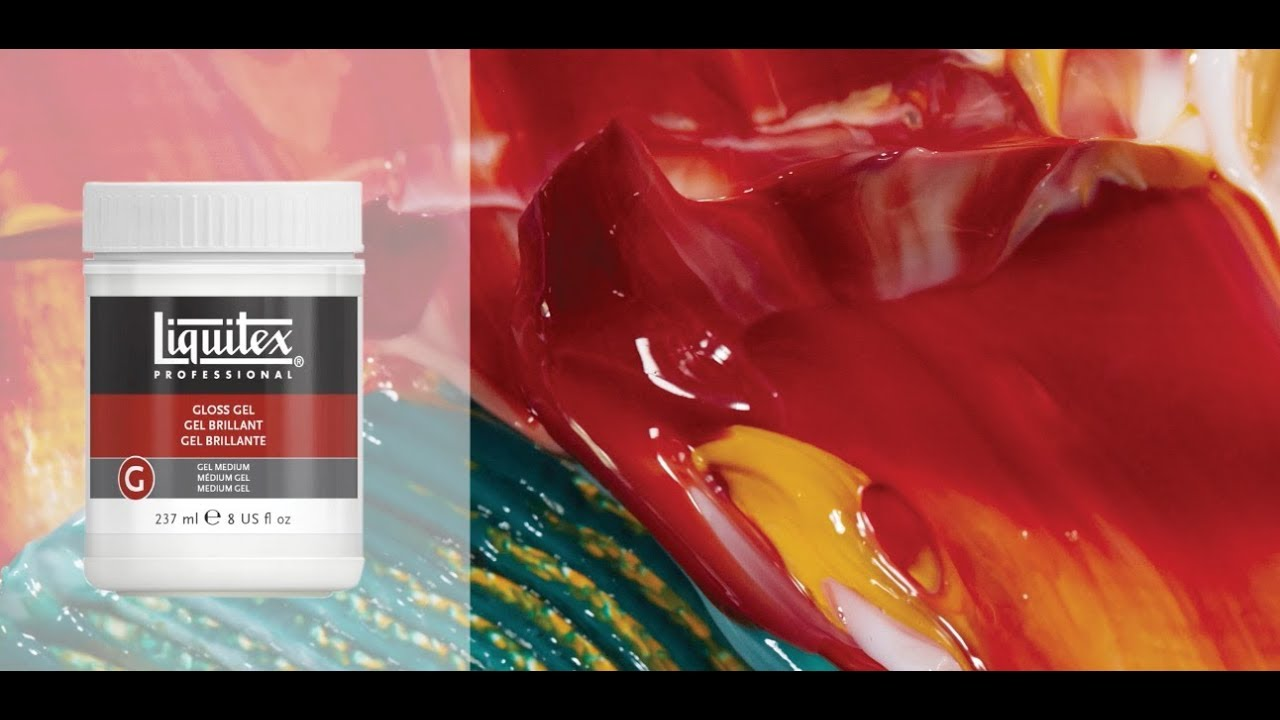 Liquitex Acrylic Gloss Gel Medium Educational Video