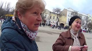 Крым ГОДОВЩИНА-3 года Референдума ЛЮДИ ПЛАЧУТ ?   Мнение Крымчан   Как это было ?