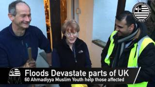 UK Floods 2015   Ahmadiyya disaster relief