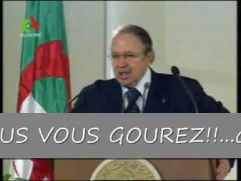 youtube bouteflika le kabyle traduction de son discours 2 youtube. Black Bedroom Furniture Sets. Home Design Ideas